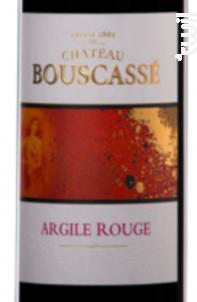 Argile Rouge - Château Bouscassé - 2015 - Rouge