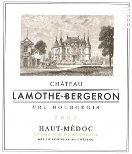 Château Lamothe Bergeron - Château Lamothe Bergeron - 2007 - Rouge
