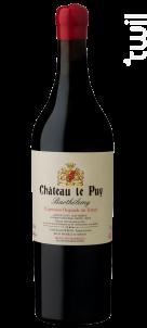 Barthélemy - Château Le Puy - 2016 - Rouge