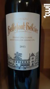 Château Bellefont-Belcier - Château Bellefont-Belcier - 2015 - Rouge