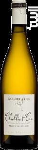 Chablis 1er Cru Mont de Milieu - Domaine Garnier & Fils - 2016 - Blanc
