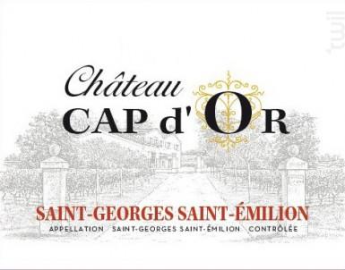 Château Cap d'Or - Château Cap d'Or - 2014 - Rouge