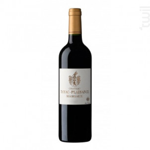 CHÂTEAU TAYAC-PLAISANCE - CHÂTEAU TAYAC-PLAISANCE - 2008 - Rouge