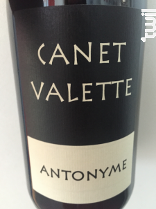 Antonyme - Domaine Canet-Valette - 2017 - Rouge