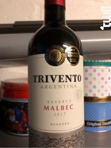 Trivento Reserve - Malbec - Bodega Trivento - 2017 - Rouge