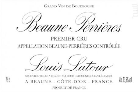 Beaune 1er Cru