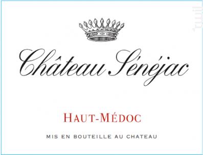 Château Sénéjac - Château Sénéjac - 2012 - Rouge