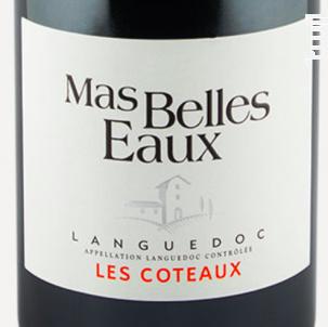 Les Coteaux - Mas Belles Eaux - 2016 - Rouge