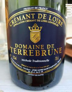 Crémant de Loire - Domaine de Terrebrune - Non millésimé - Effervescent