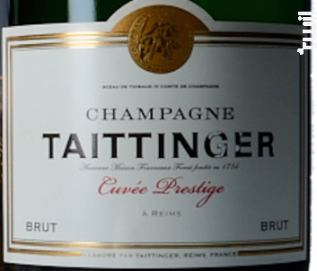 Cuvée Prestige + Etui - Champagne Taittinger - Non millésimé - Effervescent