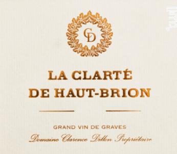 La Clarté de Haut-Brion - Domaines Clarence Dillon- Château Haut-Brion - 2016 - Blanc