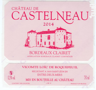 Château de Castelneau - Château de Castelneau - 2018 - Rouge