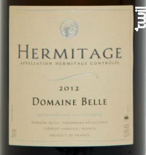 Hermitage - Domaine Belle - 1993 - Blanc