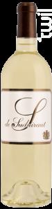 S De Suduiraut - Château Suduiraut - 2010 - Blanc