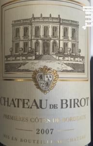 Chateau de Birot - Château de Birot - 2015 - Rouge