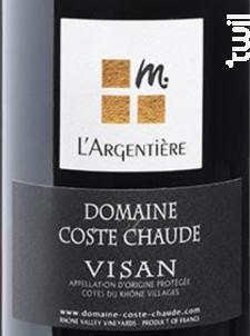 L'Argentière - Domaine de Coste Chaude - 2015 - Rouge