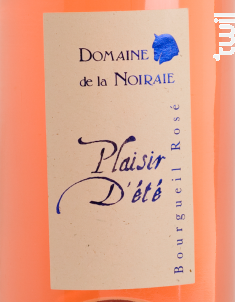 Plaisir d'Eté - Domaine de La Noiraie - 2018 - Rosé