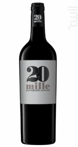 20 Mille - Domaines Jean-Philippe Janoueix - 2012 - Rouge