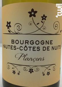 HAUTES COTES DE NUITS LES PLANCONS - Domaine Patrick Hudelot - 2005 - Blanc