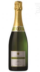 Tradition - Brut - Champagne Christophe - Non millésimé - Effervescent