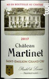 Château Martinet - Château Martinet - 2017 - Rouge