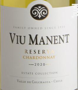 Estate collection reserva - chardonnay - Viu Manent - 2020 - Blanc