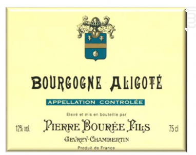 BOURGOGNE ALIGOTE - Pierre Bourée Fils - 2009 - Blanc