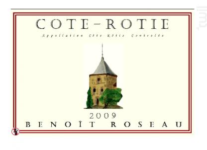 Côte-Rôtie - Benoît Roseau - Clos du pigeonnier - 2016 - Rouge