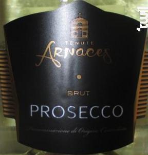 Prosecco Tenute Arnaces - Tenute Arnaces - Non millésimé - Effervescent