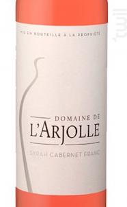 Equilibre Syrah- Cabernet - Domaine de l'Arjolle - 2018 - Rosé