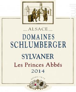 Sylvaner Les Princes Abbés - Domaines Schlumberger - 2014 - Blanc