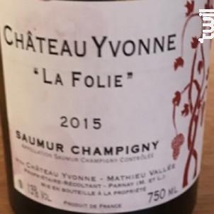 La Folie - Château Yvonne - 2019 - Rouge