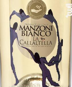 Manzoni - La Callaltella - 2017 - Blanc