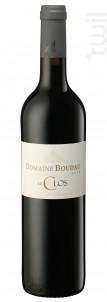 Le Clos - Domaine BOUDAU - 2018 - Rouge
