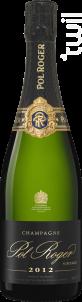 Brut Vintage - Champagne Pol Roger - 2012 - Effervescent