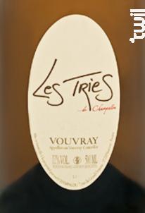 Vouvray - Les tries - Champalou - 2003 - Blanc