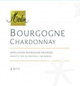Bourgogne Chardonnay - Domaine Olivier Merlin - 2015 - Blanc