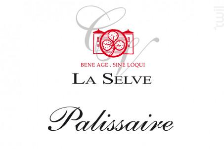 Palissaire - Château de la Selve - 2015 - Rouge