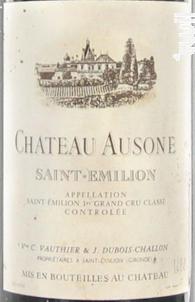 Château Ausone - Château Ausone - 1995 - Rouge
