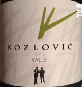 Valle - Kozlovic - 2015 - Blanc