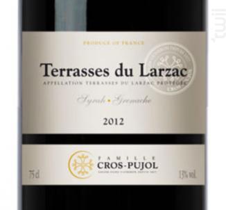 Terrasses du Larzac - Famille Cros-Pujol - Château Grézan - 2014 - Rouge