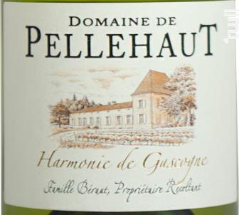 Harmonie de Gascogne - Domaine de Pellehaut - 2018 - Blanc