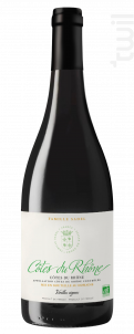 Côtes du Rhône BIO - Famille Sadel - 2019 - Rouge