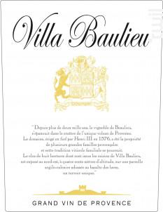 Villa Baulieu - Villa Baulieu - 2015 - Blanc