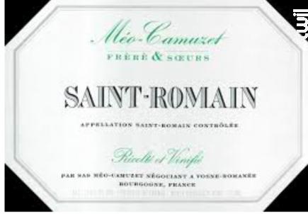 Saint-Romain - Domaine Méo-Camuzet - 2014 - Blanc