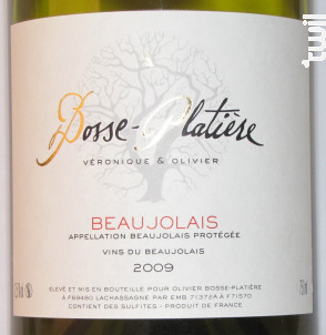 Beaujolais Blanc - Véronique & Olivier Bosse-Platière - 2009 - Blanc
