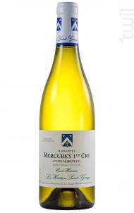 Mercurey 1er Cru Clos Marcilly cuvée Hermine - Les Héritiers Saint-Genys - 2018 - Blanc