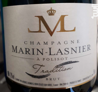 Tradition Brut - Champagne Marin-Lasnier - Non millésimé - Effervescent