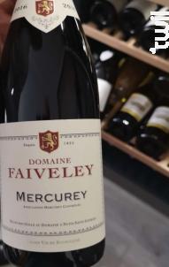 Mercurey - Domaine Faiveley - 2018 - Rouge