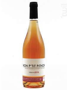 Mon P'tit Pithon  Rosé Olivier Pithon - Domaine Olivier Pithon - 2018 - Rosé